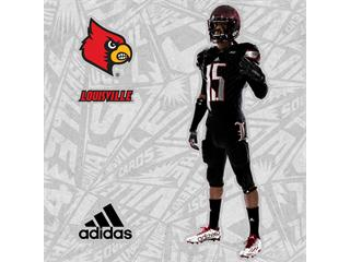 University of Louisville & adidas Unveil New Alternate Football Uniforms