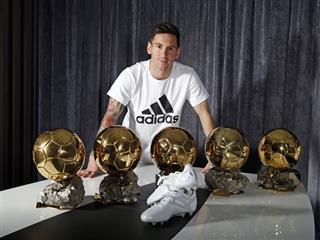 adidas Celebrates the Ultimate Creator with Platinum Messi 15