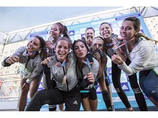 Boost Girls muestran que corren a lo grande en Santiago