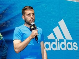 adidas ha presentado sus botas X15 con Jordi Alba en Barcelona