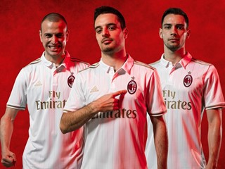 adidas Reveals AC Milan Away Jersey for the 2016/17 Season