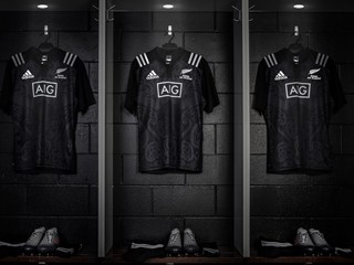 adidas Maori All Black jersey