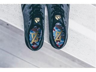 adidas Football Sundays Best Suede Black Sock Liner