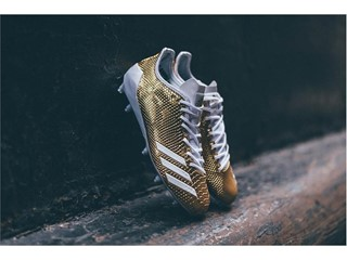 "adidas Football adizero 5-Star 6.0 ""Gold Pack"" White 1"