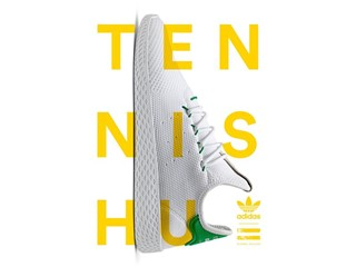 adidas Originals = Pharrell Williams Tennis Hu