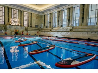 Niesamowity trening adidas #HereToCreate na basenie  w Pałacu Kultury i Nauki