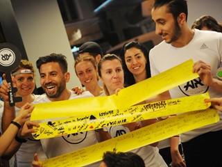 adidas İstinye Park Mağazası'nın Açılışını adidas Runners Istanbul Koşucuları Yaptı