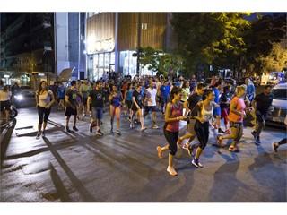 Οι adidas Runners Athens ολοκλήρωσαν τη σεζόν και γιόρτασαν τον 1ο χρόνο λειτουργίας τους με ένα μοναδικό NIGHT RUN Χ PARTY στην καρδιά της Αθήνας