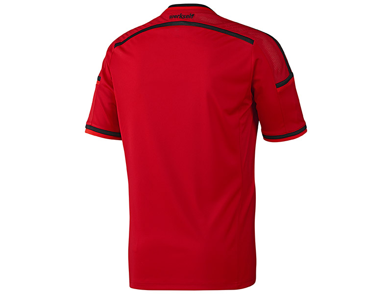 Bayer 04 Leverkusen Heimtrikot Rückseite
