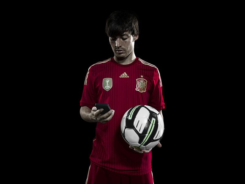 David Silva smart ball