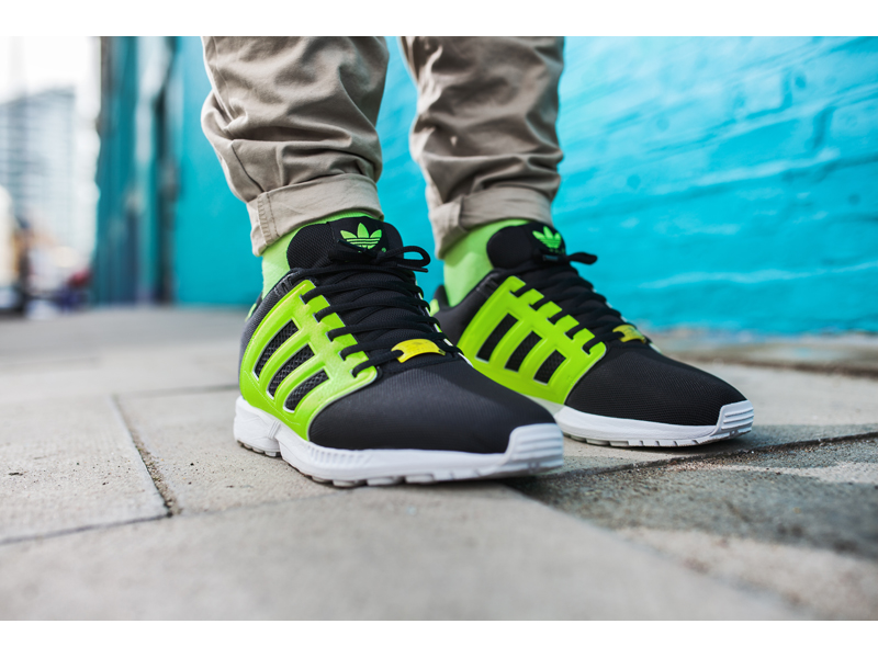 Adidas Flux Lime Green