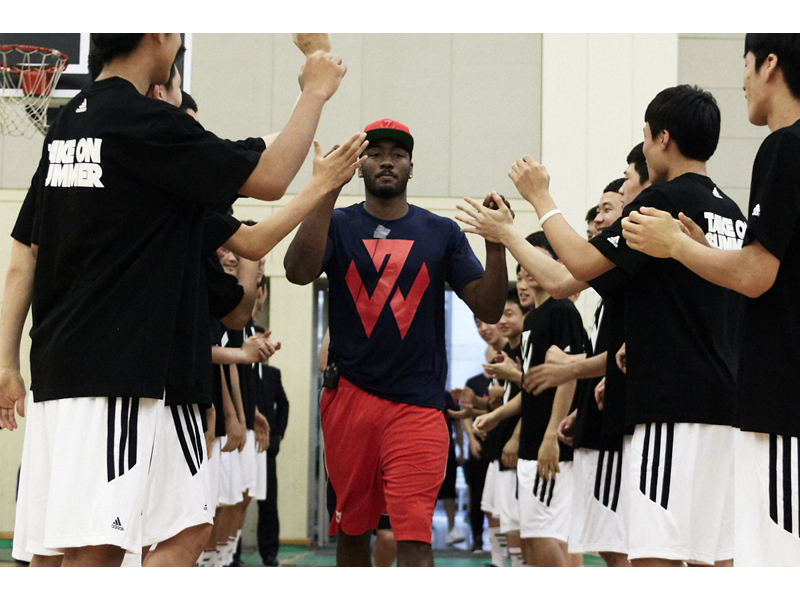 adidas John Wall Take on Summer Tour in Seoul, South Korea, 1