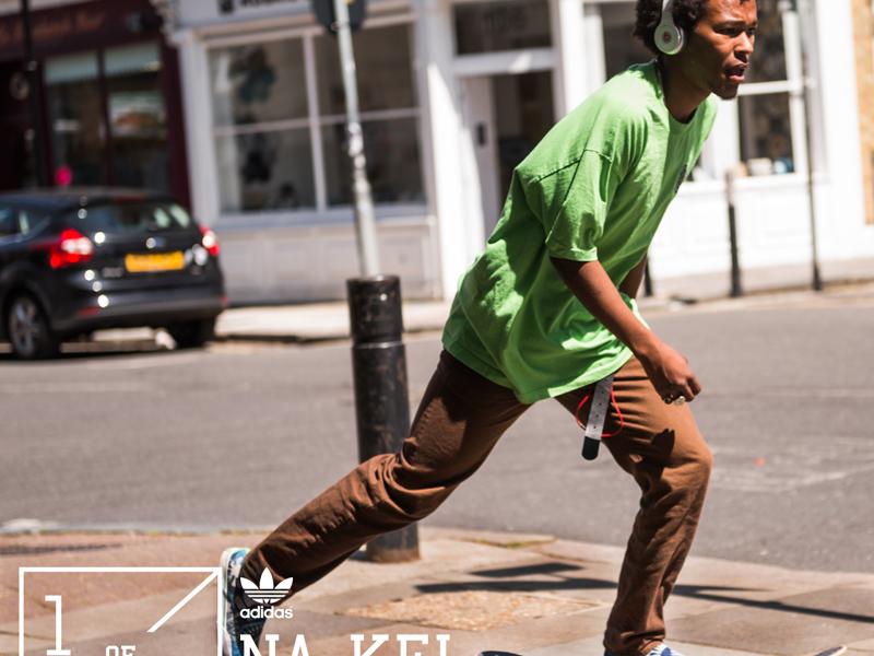 Neue Streifen für das adidas Skateboarding Team: begrüßt Na-kel Smith!