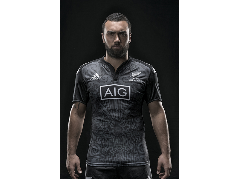 All Black Jersey For Lions Tour