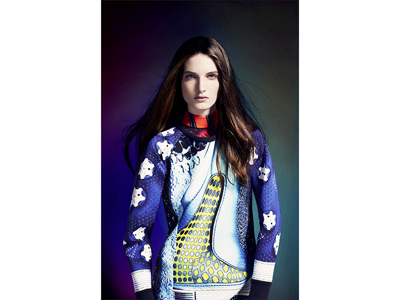 adidas Originals by Mary Katrantzou AW14 model_1