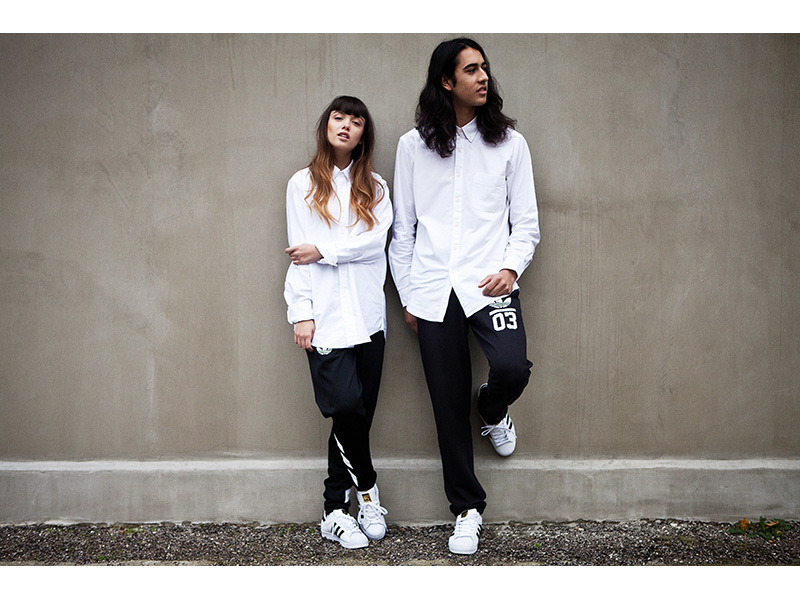 Adidas Superstar White Lookbook