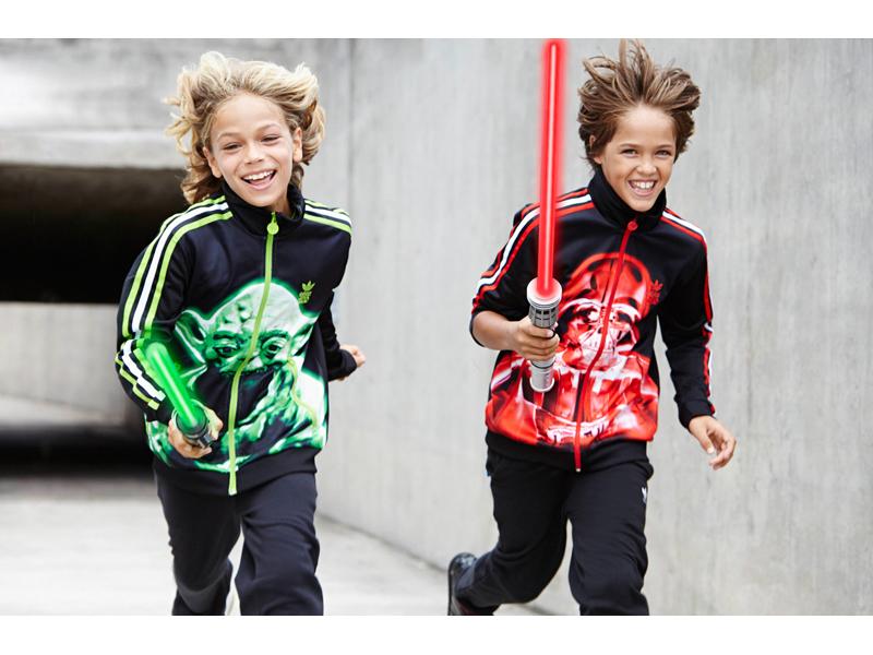 Star Wars Good vs Evil adidas Originals SS15 Model 01