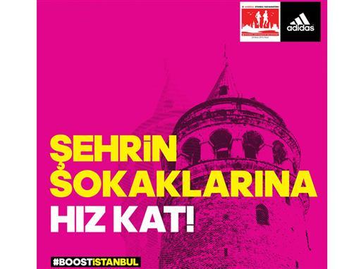 adidas, Vodafone İstanbul Yarı Maratonu'nun ana sponsoru oldu.