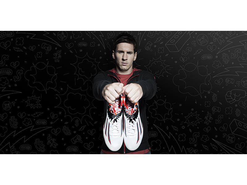 MESSI PIBE DE BARR10: BOOTS MADE FOR THE BEST
