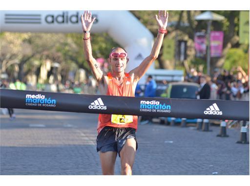 Ganador Media Maraton adidas RosarioMati¦üas