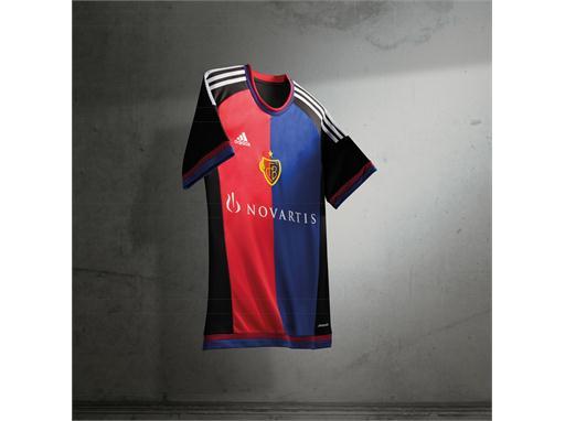 adidas FC Basel Home Jersey