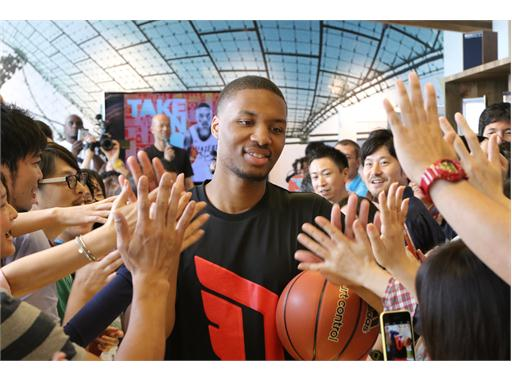 adidas Damian Lillard Take on Summer Tour in Tokyo, Japan, 1