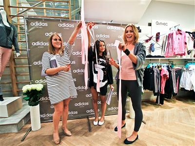 adidas представляет первый в Европе магазин adidas women