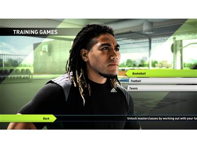 adidas miCoach console game