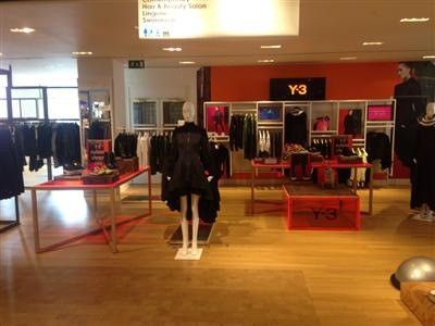 Y-3 partners up with Selfridges to celebrate 10 Year anniversary