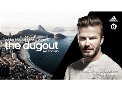 David Beckham to feature in adidas finale show at the 2014 FIFA World Cup Brazil™