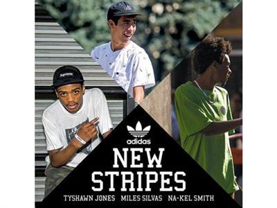 Neue Streifen für das adidas Skateboarding Team