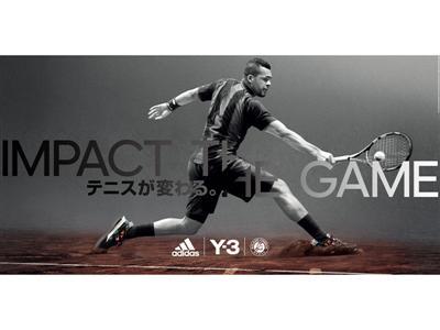 adidas Performance & Y-3がローラン・ギャロスのための  新たなテニスコレクションを発表
