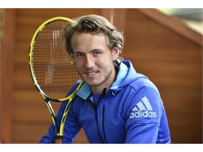Lucas Pouille joins adidas Tennis