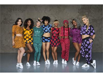 adidas Originals представляет совместную женскую коллекцию танцевального коллектива Baes и Фаррелла Уильямса
