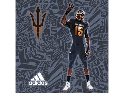 Arizona State & adidas Unveil New 'Be The Hammer' Alternate Football Uniforms