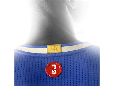 Christmas Day Jersey 2015 Warriors Detail