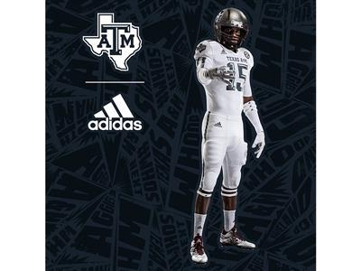 Texas A&M & adidas Unveil New Special Edition 'Aggie Ice' Uniforms