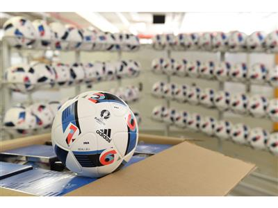 Euro16 Official Match Ball Deliveries