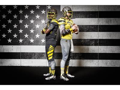 adidas Unveils New Uniforms for 2016 U.S. Army All-American Bowl