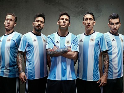 adidas Presents New Kit For Argentina's National Football Team