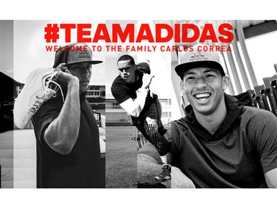 MLB American League Rookie of the Year Carlos Correa Joins adidas Family