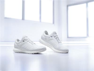 Porsche Design Sport by adidas releases the all white #UltraBOOST- this season's most anticipated sports-luxe trainer