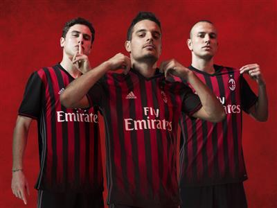 adidas i AC Milan z nową koszulką na sezon 2016/17