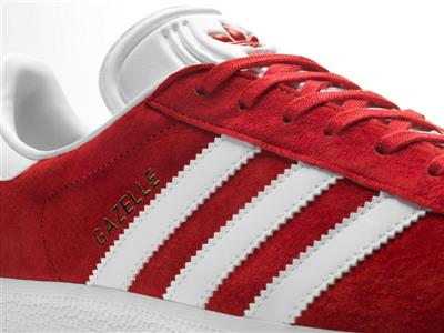 adidas Originals Gazelle FW16 Product Imagery Red Detail 01