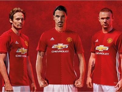 adidas dezvăluie noul tricou Manchester United pentru meciurile de pe propriul teren