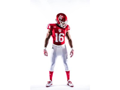 Indiana University & adidas Football Unveil Retro 'Candy Stripe' Alternative Uniforms