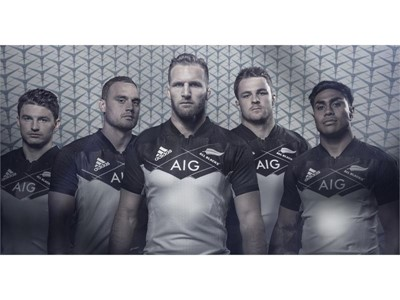 Cutting-edge design for new All Blacks alternate jersey