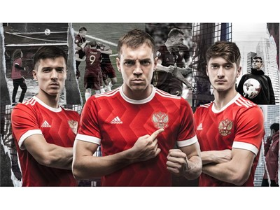 adidas представляет домашнюю форму cборной России по футболу для Кубка конфедераций 2017