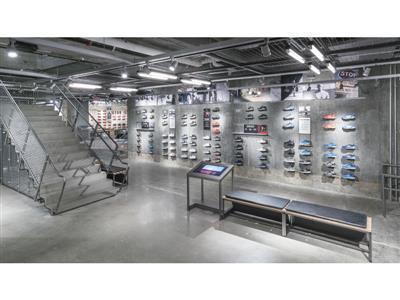 adidas NYC Flagship 5th Ave Interior Shot 10