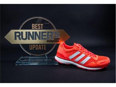 """Adizero Adios Boost 3.0 Runner's World International """"en İyi̇ Yeni̇leme"""" Ödülünü Aldı"""